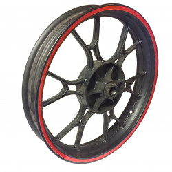 Alloy front wheel rim 2.5 x 17""
