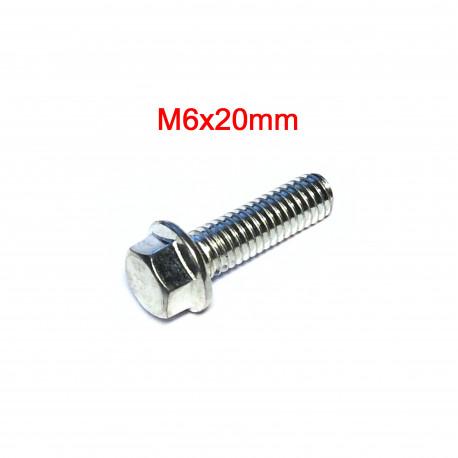 Hex flange bolt M6