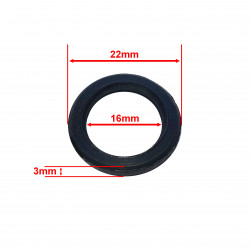 Dustproof seal 16x22x3mm