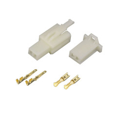 2 Pin (Set) 2.8mm connector plug