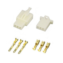3 Pin (Set) 2.8mm connector plug
