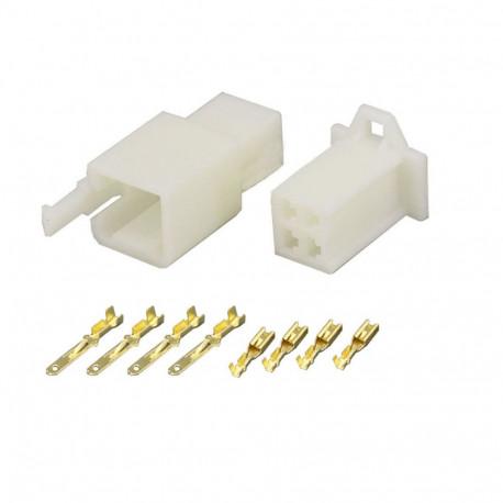 4 Pin (Set) 2.8mm connector plug