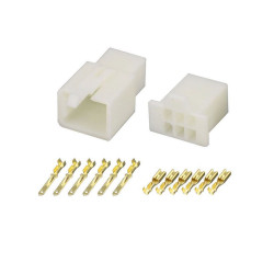6 Pin (Set) 2.8mm connector plug
