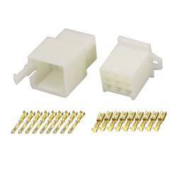 9 Pin (Set) 2.8mm connector plug