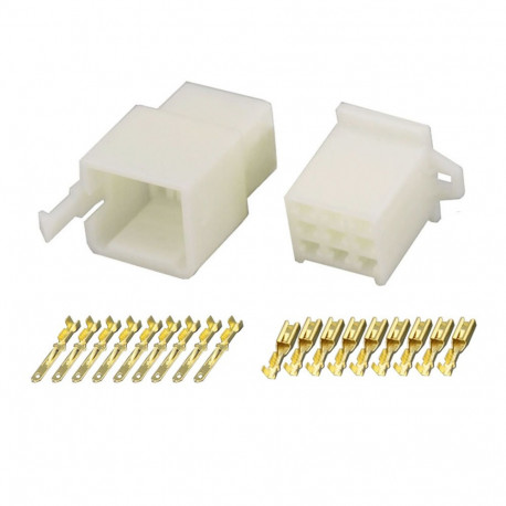 9 Pin (Set) 2.8mm connector plug