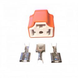 H4 bulb connector