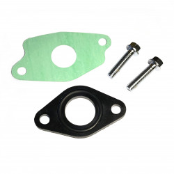 Gasket set for inlet pipe
