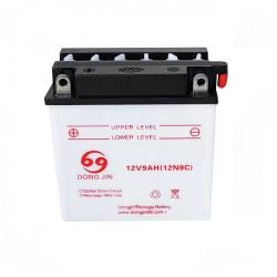 Batteri 12V9AH (135x75x139)
