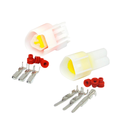 3 Pin (Set) connector plug  - Waterproof