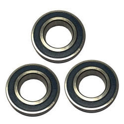 Rear wheel bearing (set of 3)