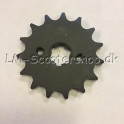 Sprocket 15 teeth - type 428