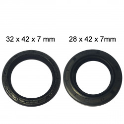 Dust protectors front wheel (set of 2 pcs.)