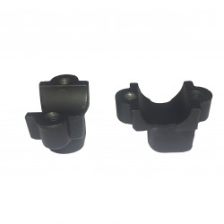 Handle bar clamp (lower bracket)