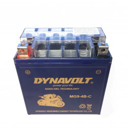 Batteri Dynavolt MG9-4B-C  (135x75x139)mm
