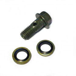Brake banjo bolt M8 x 1,25 with sealing washers