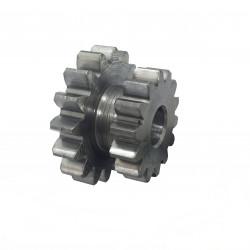 Secondary starter motor reduction gear