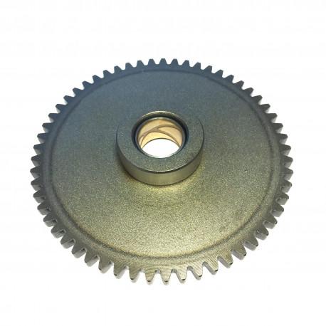 Drivhjul ved starterkobling