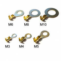 Brass Ring Cable Lugs