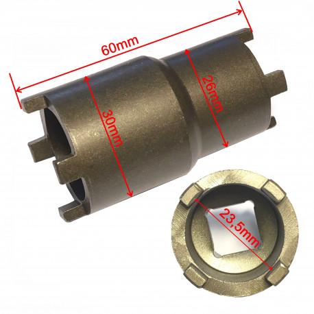 Clutch hub spanner tool
