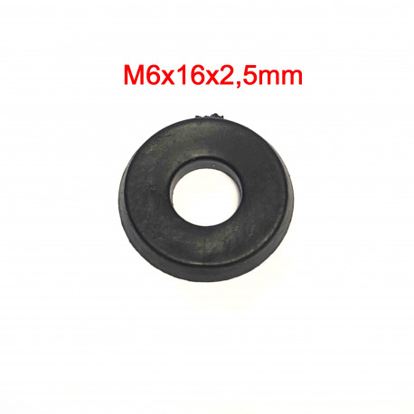 Rubber washer M6-M8